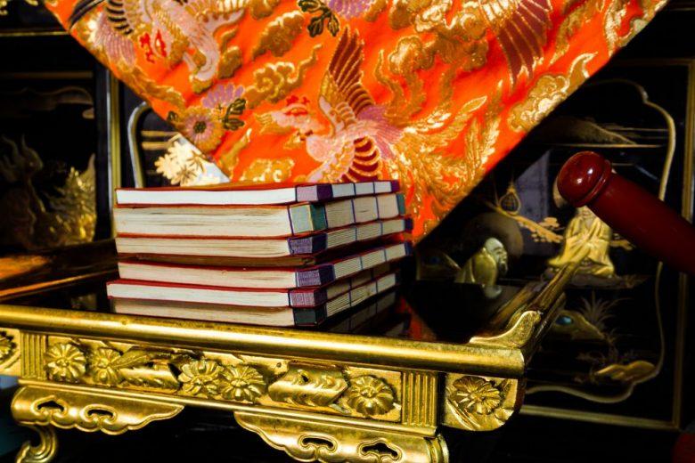 h2-2 お正月に仏壇で使う打敷や仏具を準備しておきましょう